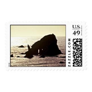 Sea Stack - Off Redwood National Park Postage