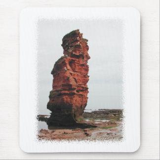 Sea Stack Rock. Ladram Bay, Devon. UK. Mouse Pad