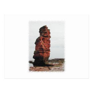 Sea Stack Rock. Ladram Bay, Devon. UK. Postcards