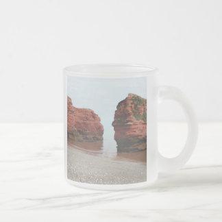 Sea Stack Rocks. Ladram Bay. Devon. UK. Mug