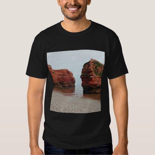 Sea Stack Rocks. Ladram Bay. Devon. UK. Tshirts