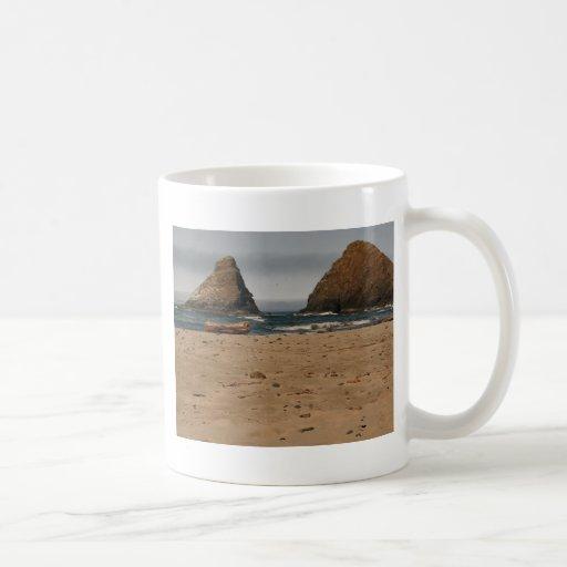 Sea Stacks at Heceta Head Coffee Mugs