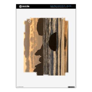 Sea stacks on the beach at Bandon, Oregon Skin For iPad 3