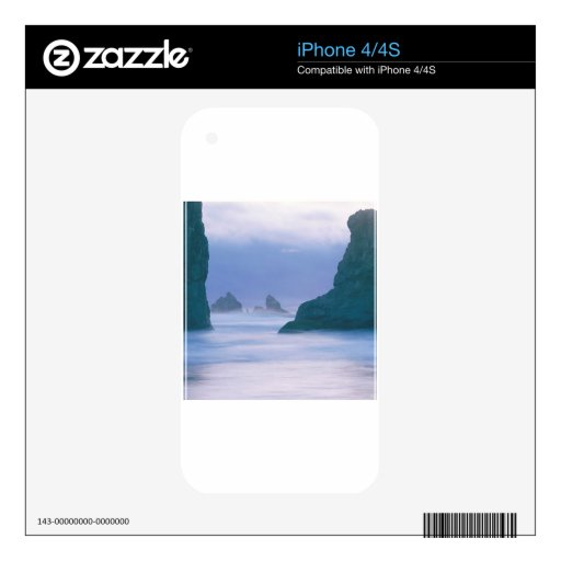 Sea Stacks Oregon Skin For The iPhone 4