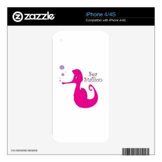 Sea Stallion Skin For iPhone 4S