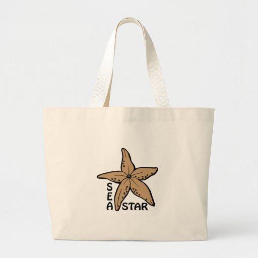 Sea Star Tote Bags