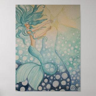 Sea Star, Erin V. Downey 2009 Poster