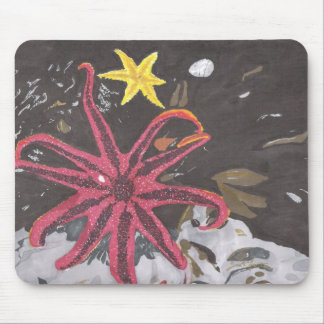 Sea Star Mouse Pad