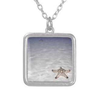 Sea Star on sandy bottom underwater Custom Jewelry