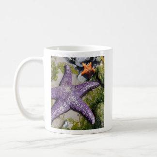 Sea Stars 21x25 Paint2 Shrpnd, Alaska, www.DLWa... Coffee Mug