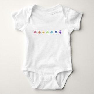 Sea stars! baby bodysuit