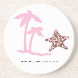 Sea Stars for Cancer Drink Coaster