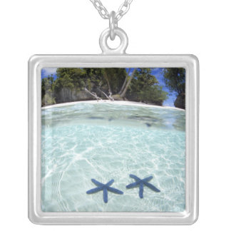 Sea stars, Rock Islands, Palau 2 Necklace