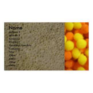 Sea Stone and Orange and Lemons Pack Of Standard Business Cards