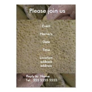 Sea Stones 5x7 Paper Invitation Card