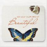Sea su propia clase de hermoso. Mariposas de monar Tapete De Ratones