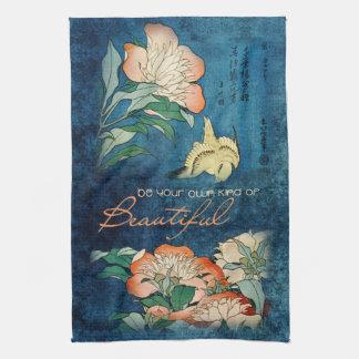 Sea su propia clase de hermoso toallas de mano