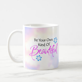 Sea su propia clase de taza hermosa
