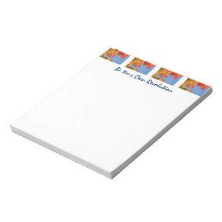Sea su propio otoño del personalizado de las libre bloc de papel
