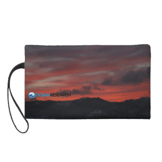SEA Sunset Clutch- Keep it simple Wristlet