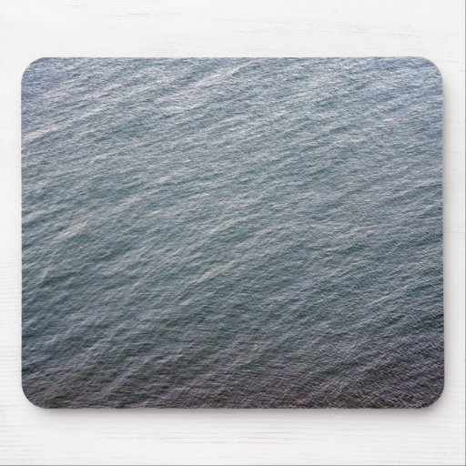 Sea Surface Texture Mouse Pad