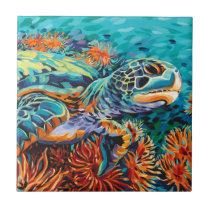Sea Sweetheart I Ceramic Tile