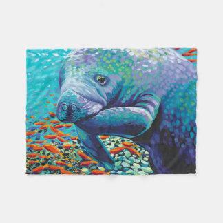 Sea Sweetheart II Fleece Blanket