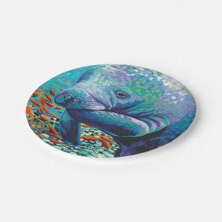 Sea Sweetheart II Paper Plate