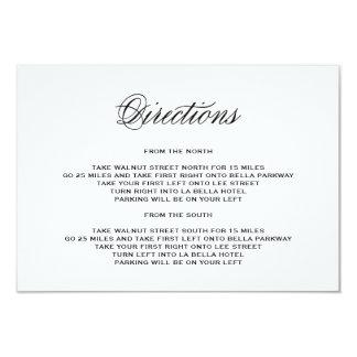 Sea tarjeta casada del recinto de la dirección del invitación 8,9 x 12,7 cm