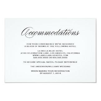 Sea tarjeta casada del recinto del alojamiento del invitación 8,9 x 12,7 cm