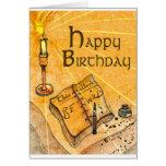 Sea tarjeta de cumpleaños salvaje