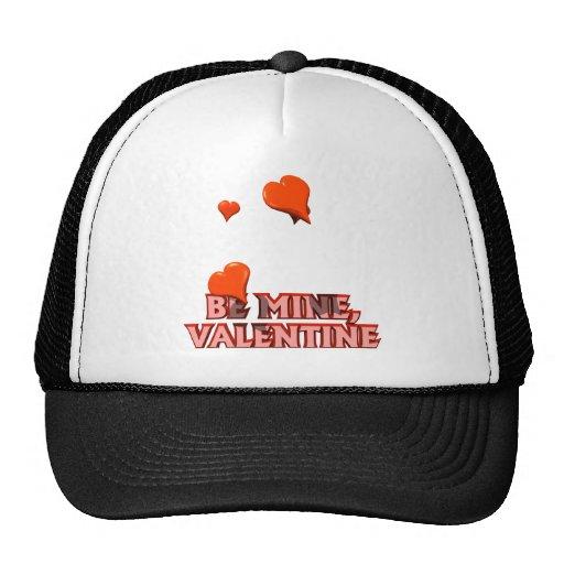 Sea tarjeta del día de San Valentín de la mina Gorros