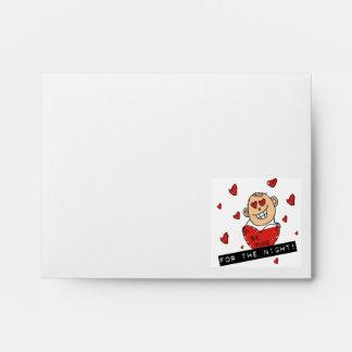 Sea tarjeta del día de San Valentín de la mina