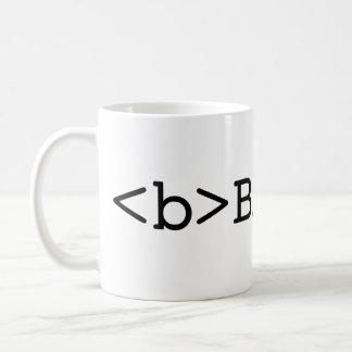 SEA taza de café INTRÉPIDA del HTML