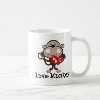 Sea taza de la tarjeta del día de San Valentín del