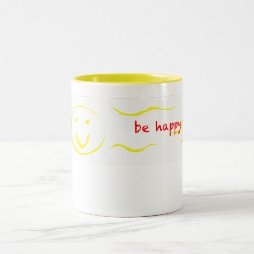 """""""sea"""" taza sonriente feliz"""
