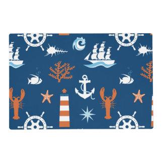 Sea Theme Pattern 1 Placemat