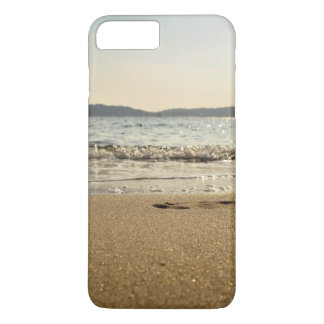 Sea Themed, Gentle Waves Gurgle In Onto Wet Sand W iPhone 7 Plus Case