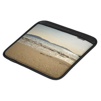 Sea Themed, Gentle Waves Gurgle In Onto Wet Sand W Sleeves For iPads