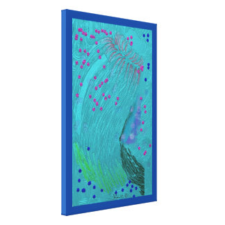 """""""sea thingy"""" Premium Wrapped Canvas (Gloss)"""