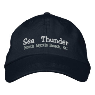 Sea Thunder Embroidered Baseball Cap