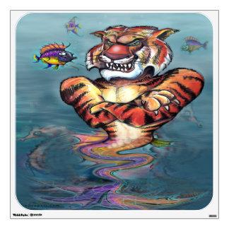 Sea Tiger Wall Decal