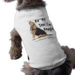 ¡Sea todos lo que usted puede beagle! Acaricie la  Ropa Perro