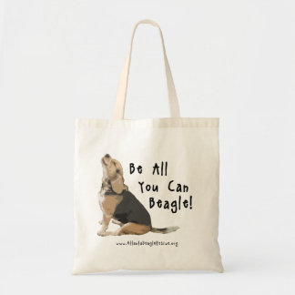 ¡Sea todos lo que usted puede beagle! La bolsa de