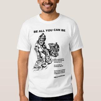 Sea todos lo que usted puede ser una rata del camisas