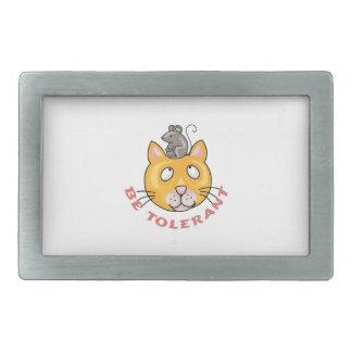 Sea tolerante hebillas de cinturón rectangulares