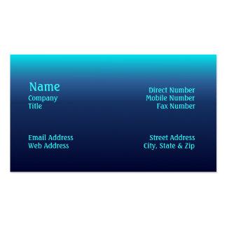 Sea Tones Business Card
