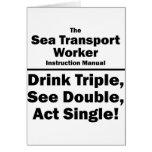 sea transport worker card