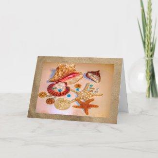 Sea Treasures Card