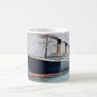 Sea Trials of RMS Titanic Coffee Mug